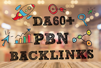 20 High Metric PBN Post DA 60+  Dofollow PBN Backlink - Permanent and Manual