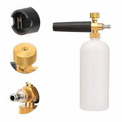 High Pressure Washer Jet Snow Foam Soap Cannon Gun Car Wash Bottle Lance Sprayer