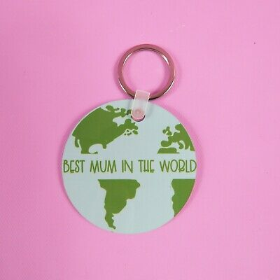 Best Mum Keyring | worlds best mum gift Birthday Present | Gift for Her | Mum