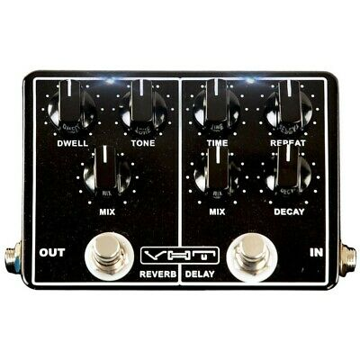 New VHT AV-EV1 EchoVerb Dual Effects Guitar Pedal, Delay and Reverb