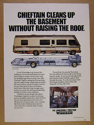 1992 ITASCA SUNFLYER Motorhome RV color photo vintage print