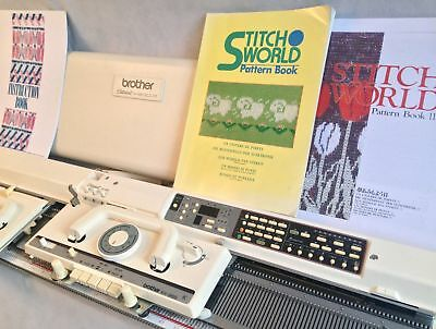 Brother knitting machine KH 965 electronic serviced with 2 year warranty white