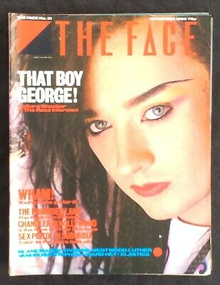 The Face Magazine No 31 November 1982 Boy George Wham Blancmange Elastica
