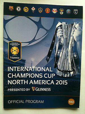 2015 International Champions Cup Manchester United, Chelsea, Barcelona, PSG