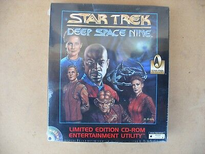 rétrogaming 1996 jeu CD ROM star trek deep space nine neuf sous blister