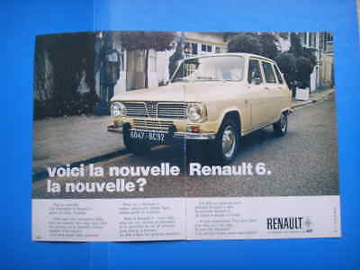 Publicite Advertising 014 1981 Renault 9 Macadam Star Other Breweriana Collectibles Double Pages
