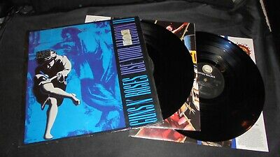 Guns N' Roses ‎– Use Your Illusion II Germany 1991 shrinkwrapped LP vinyl Tested