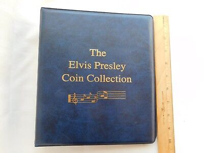 Elvis Presley Movie Coin Binder Holder for Collection NO COINS New condition