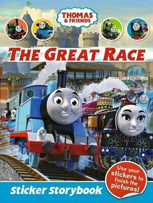 Thomas & Friends: The Great Race Sticker Story Book The Cheap Fast Free Post