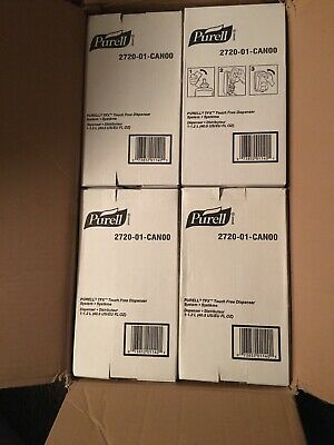Lot Of 12 - Purell Tfx Touch Free Dispenser - 2720-01 - New In Box