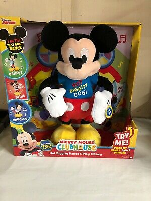 Mickey Mouse Clubhouse Hot Diggity Dance and Play Mickey Hot Dog Dancing New
