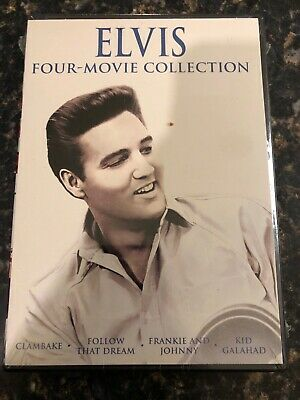 Elvis Four-Movie Collection - New Sealed, Widescreen, In COLOR, Not Rated
