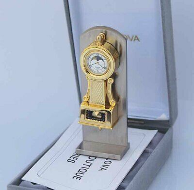 Bulova Miniature Worthington B0531 Clock Solid Brass