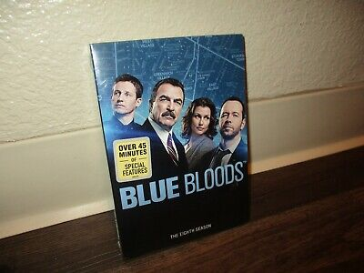 Blue Bloods: The Complete Eighth Season 8 (DVD, 2018, 6-Disc Set)