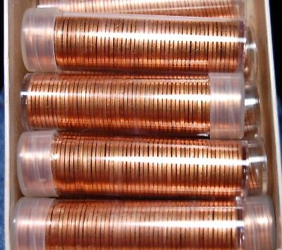 Brilliant Uncirculated Roll Of 1971 S Lincoln Memorial Very Choice To Gem Red