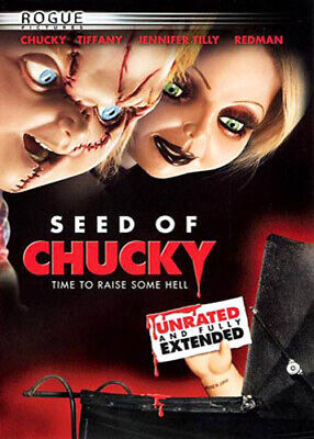 Child's Play 5: Seed of Chucky (Extended Version, Unrated) DVD NEW