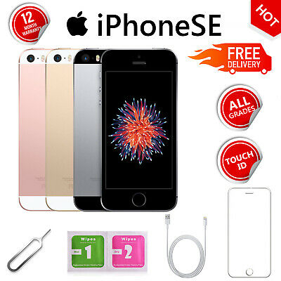 Apple iPhone SE 16GB 64GB Factory Unlocked Smartphone Various Grade A++ UK
