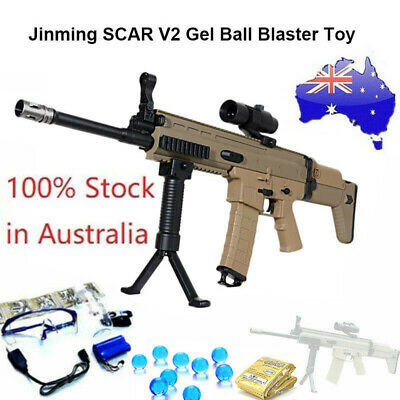 Jinming SCAR V2 Gel Ball Blaster Water Bullet Mag-fed Toy Adult Size AU Stock