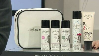 *look!* Percy & Reed 5 Piece Hair Miracles Can Happen Collection With Bag