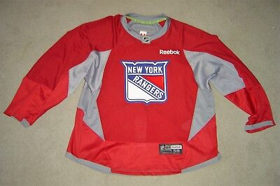 2f92f9cea New York Rangers red PRO Reebok game used practice jersey FINAL PRICE DROP