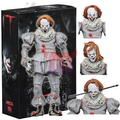 """NECA IT Well House Pennywise Clown 2017 Ultimate 7"""" Action Figure 1:12 Scale"""