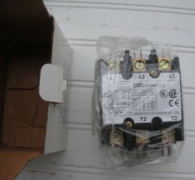 Danfoss Dp040-3C2 40 Amp Definite Purpose Magnetic Contactor