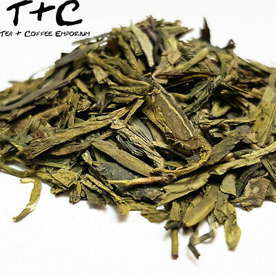 Lung Ching ( Long Jing) Shangba Organic - Premium Chinese Green Tea (25g-900g)