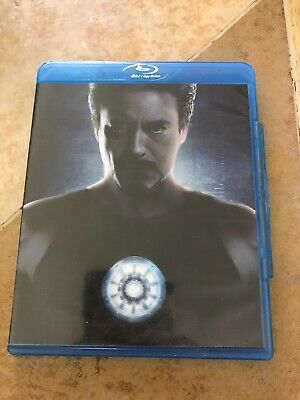 Marvel Iron Man (2-Disc Blu-ray Set, Ultimate Edition) Robert Downey Jr.
