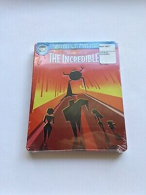 Disney Pixar The Incredibles [4K/Blu-Ray/Digital] Steelbook