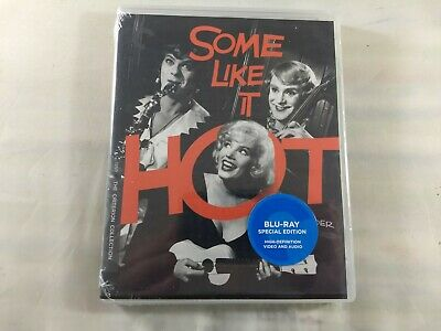 Some Like It Hot   New Blu-Ray Criterion Collection Free Shipping!