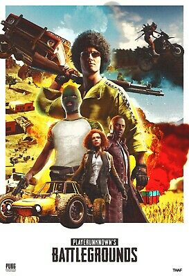 PlayerUnknown's Battlegrounds (PUBG) Game Poster - 11x17 - 13x19 - #4