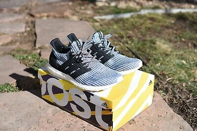 2a2a56a8fa7fb ADIDAS ULTRA BOOST 4.0 Parley Legend Ink Carbon Blue Spirit Sneakers ...
