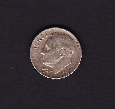 United States 1947 Dime Silver Coin