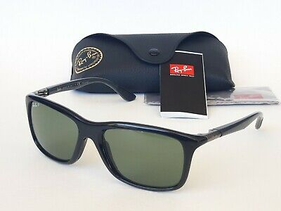 6ce44df307 RAY-BAN RB 8352 6219 9A 57-18-140 mm - Black Grey Green Classic ...