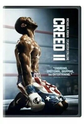 """creed 2"" Dvd Ii  Usa 2019 Free Fast Shipping 🚀"