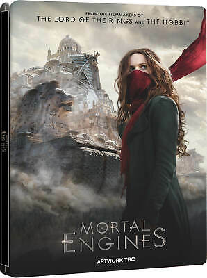 Mortal Engines (4K UHD/Bluray) Steelbook W/ Protective Cover