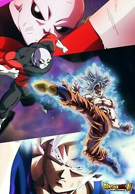 Dragon Ball Super: Ultra Instinct Goku vs Jiren Poster - 11x17 - 13x19