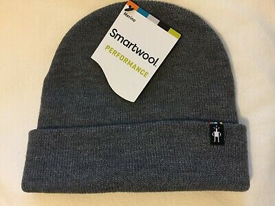 bc35a7211e9 SmartWool Performance Merino Cozy Cabin Hat Gray Heather NWT Men Women