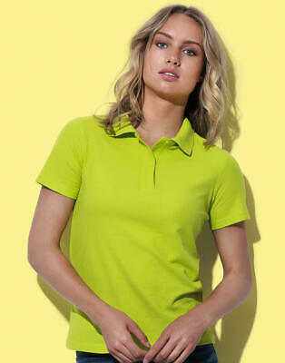 Stedman: Damen Poloshirt Regular Fit Baumwolle Single Jersey S-2XL ST3100 NEU