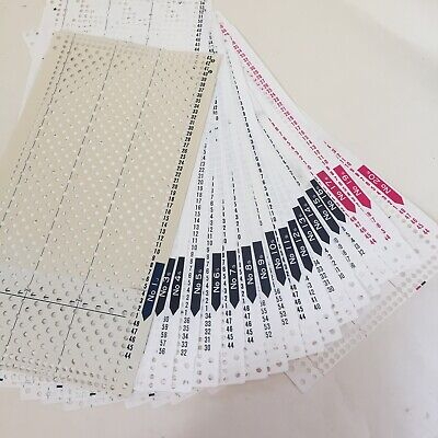Brother Basic Set Punch Cards 20 x 24 st Standard Knitting Machines