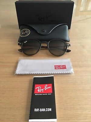 2aa8e1beb6b38 Ray Ban Sunglasses Round Liteforce RB4237 710 85 Tortoise Brown Gradient  BNIB