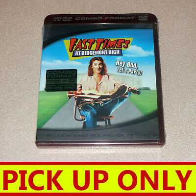 HD DVD / DVD COMBO Fast Times At Ridgemont High {NEW & SEALED  [PICKUP ONLY vic]