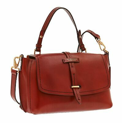 THE BRIDGE Dalston Double Function Umhängetasche Tasche Rosso Ribes Rot
