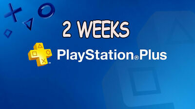 playstation plus 2 weeks Trial (14 days)  No Codes