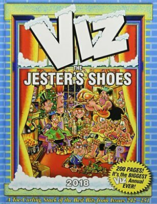Viz Annual 2018: The Jester's Shoes (Annuals 2018) Book The Cheap Fast Free Post