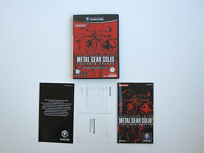 Metal Gear Solid Twin S. Nintendo Gamecube PAL HOL Complete CIB tested komplet