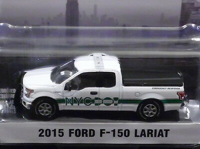 GREENLIGHT 2015 FORD F-150 LARIAT Truck New York City DOT 1/64 SCALE  DIECAST