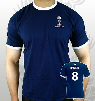 Scotland Rugby T-Shirt 6 Nations Retro Scottish Football Top Mens Womens Gift