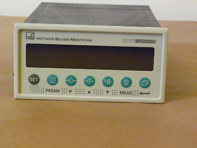 HBM MVD2555 Carrier frequency amplifier for panel mounting BRAND NEW