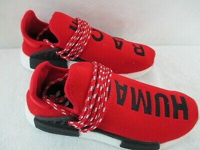 6c9aab558f6d2 ADIDAS NMD PHARRELL Williams Human Race Size 8.5 M in Red